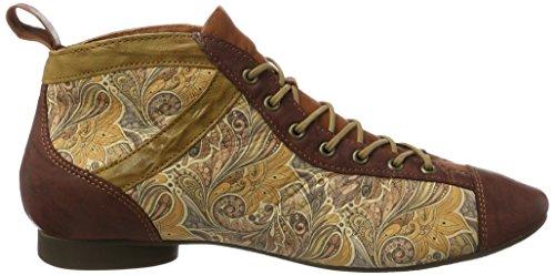 Think! Damen Guad Desert Boots Mehrfarbig (Rioja/Kombi 44)