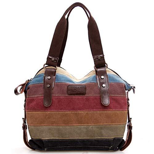 5222830fc9 Duofeiya Borse a tracolla di tela vintage Hobos per donna Borsa a tracolla  grandi borse a