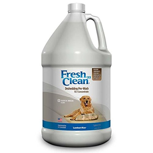 lambert-kay-fresh-n-clean-deshedding-pre-wash-151-concentrate-gallon-size-tropical-breeze-scent
