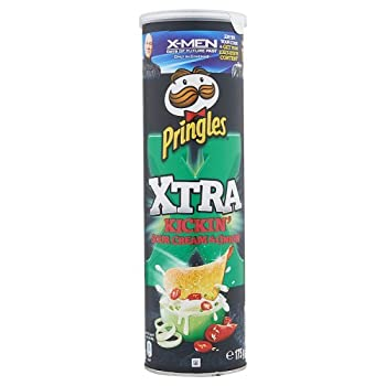 Pringles Xtra Kickin crema...