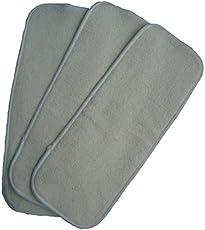 Easy Feel All 4-Layer Hemp Cloth Diaper Insert (Pack of 3)