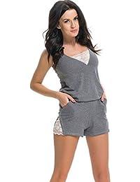 dn nightwear Damen Schlafanzug / Pyjama PM.9251