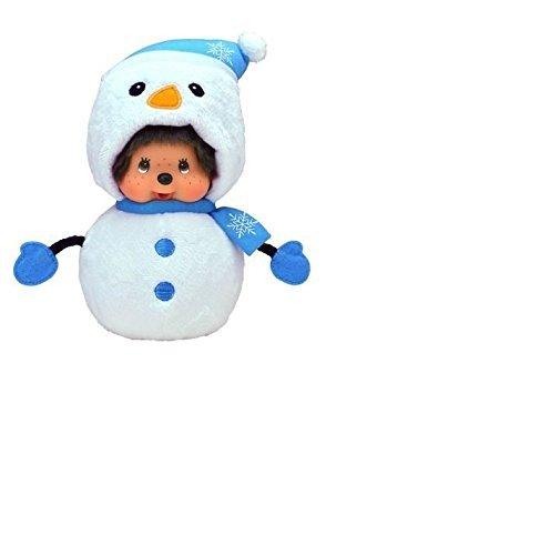 Monchichi bonhomme de neige (expédiés à partir du Royaume-Uni)