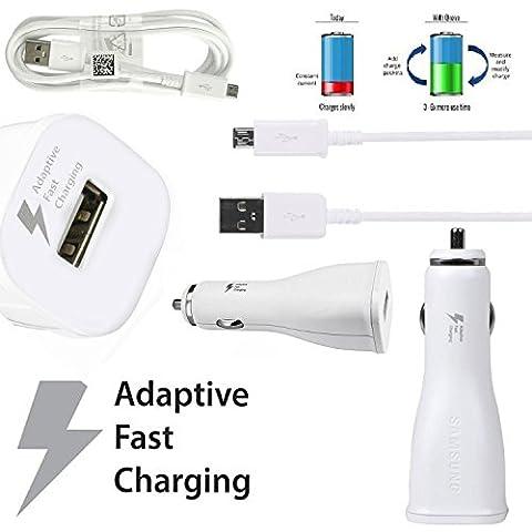 Samsung Chargeur rapide Câble de chargement EP ln915Micro USB allume-cigare