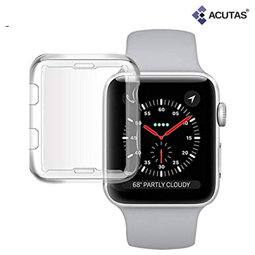 ACUTAS Protective Case Cover for Apple Watch 42MM Series 2 / Series 3