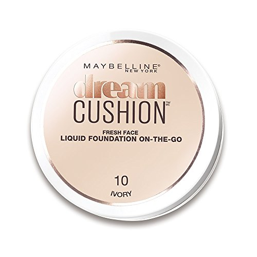 Maybelline New York Dream Cushion, Fondotinta Liquido Formato Cushion, 10 Ivory