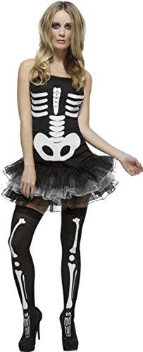 Fever Skeleton Costume Extra Small (Fever Skelett Kostüm)