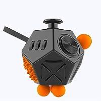 ZMH 12-Gesicht Heiliger Kristall Dekompression Rubik Es Cube, Kinder Erwachsene Dekompressions Spielzeug, Vier-Farben Optional