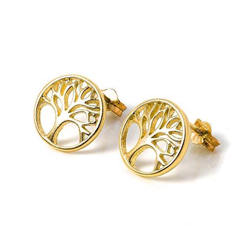 boucles-doreilles-arbre-de-vie-en-argent-plaque-or-jaune-18-carats