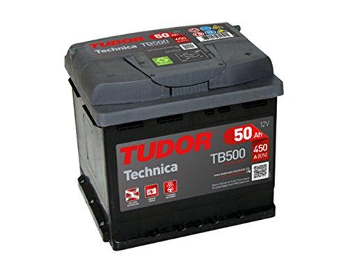 Batteria Tudor 50Ah 450A Tech