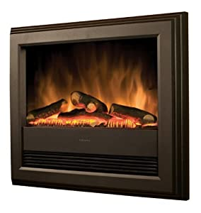 Dimplex Dx0214np Bach Log Effect Wall Mounted Fire With Remote