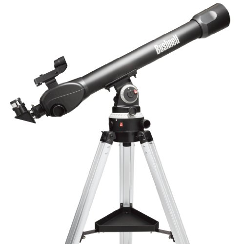 Bushnell Voyager SkyTour Refractor - Telescopio, 70 mm x 800 mm, Negro