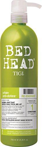 Tigi Bed Head Urban Antidotes - Soin Du Cheveu - Re-energize Conditioner - Après Shampooing 750ml