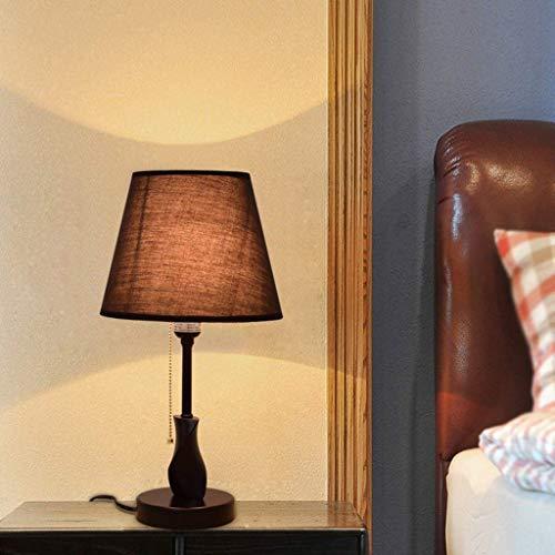 JX Gyy Home Hotel Lighting Chic Lámpara de Escritorio, Lámpara de Madera...