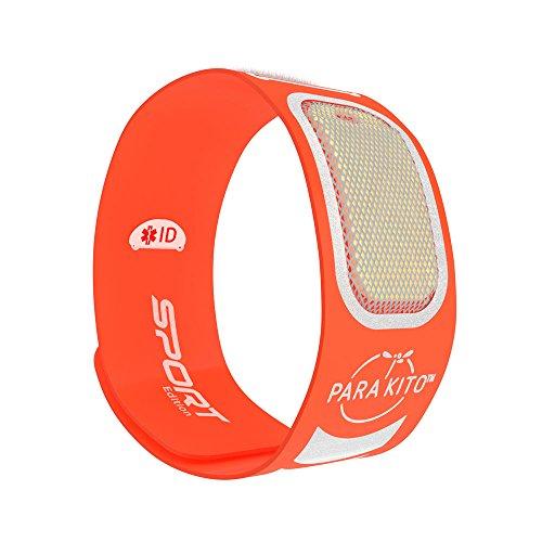 PARA'KITO Mückenschutz Armband Sport Orange