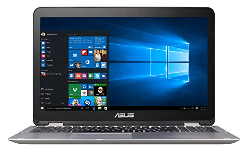 "ASUS TP501UQ-CJ011T - Ordenador portátil de 15.6"" (Intel Core i7-6500U, 8 GB de RAM, HDD de 1 TB, NVIDIA GeForce 940MX 2GB, Windows 10 Original), metal gris oscuro - Teclado QWERTY Español"