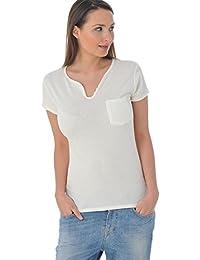 Kaporal Tee Shirt Nuck milk p16
