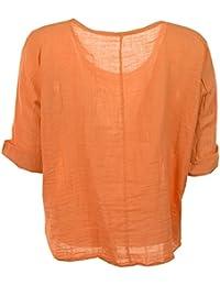 Suchergebnis auf Amazon.de für  Blusen Für Mollige - Orange   Blusen    Tuniken   Tops, T-Shirts   Blusen  Bekleidung f7f6ffcd31