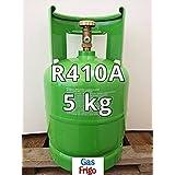 Gas R 4 1 0 A 5 kg sustitución de gas y compatible con acondicionadores de aire que operan con el producto R 22 red vacía 7 lt incluido en el precio-