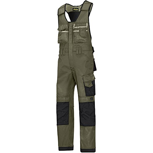 Snickers DuraTwill Kombihose Olive Gr. 150