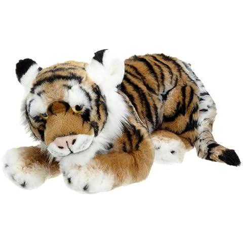 Blickfänger 14105 - Peluche Jaquard Tiger Lying, 46 cm