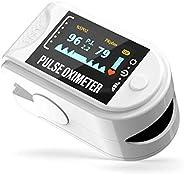 Eastronic Saturimetro Pulsossimetro Professionale - Certificato Medico CE. Controllo Frequenza Cardiaca (PR) S
