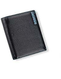 03fb68b84 Daesar Billetera Hombre Seguridad Cartera de Cuero Hombre con Monedero  Monedero para Hombre