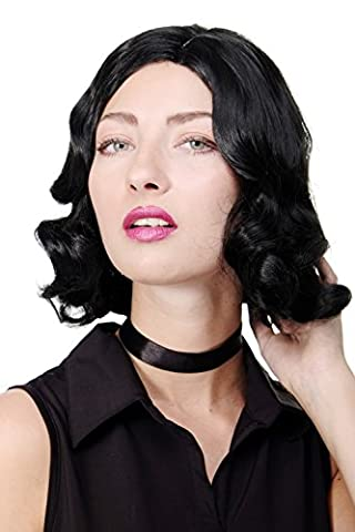 La Dame De Chicago - WIG ME UP ® - Perruque noire
