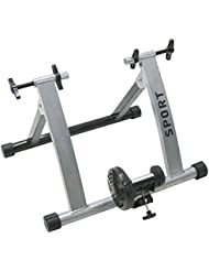 Oypla Indoor Bike Trainer - Fan Wheel Bicycle Cycle Fitness Cycling Machine