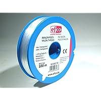 EFCO Polyamide Thread tensile Force Approx. 20,0 kg ø 0,7 mm 100 m Clear, 12 x 5 x 2 cm