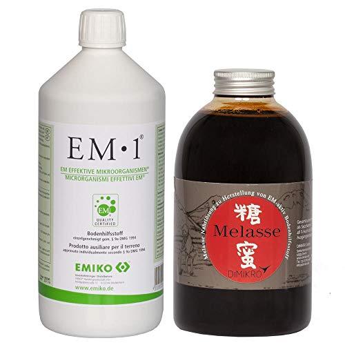 Liter Quellwasser (EM 1 Urlösung (EMIKO )+ Melasse (DIMIKRO )(je 1 Liter)+ Infobroschüre über EM - Effektive Mikroorganismen)
