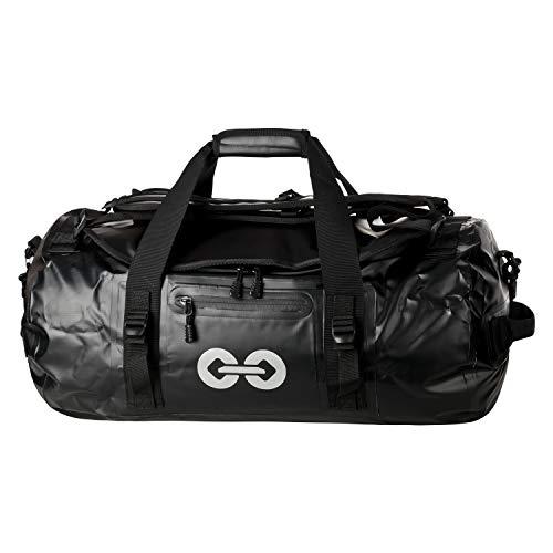 URBAN ZWEIRAD Wasserdichte Reisetasche Duffel Bag - Transporttasche mit Rucksack-Funktion wasserdicht verschweißt - 30 und 50 Liter (50 Liter) (Sport Wasser Rucksack)