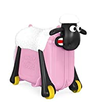 If you dread taking the kids abroad, we've got the ideal solution. The interesting luggage toy-Shaun the Sheep, suitcase and transport for children 3 years and older. It is the appearance of a suitcase that you can ride on a sheep or pull it ...