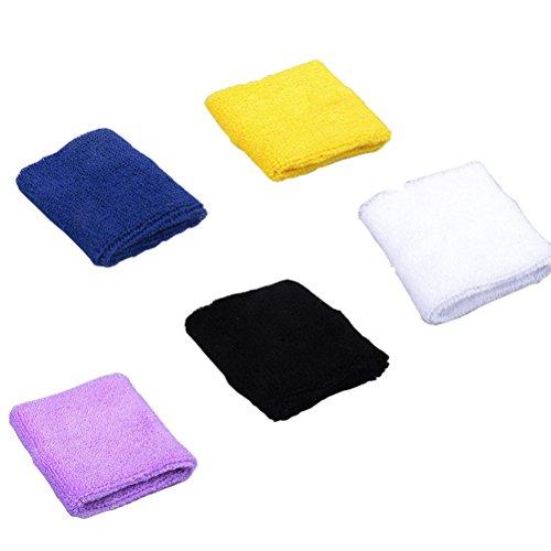 nanxsontm-5-paires-poignet-manchette-bande-absorbant-en-coton-pour-sport-fitness-basket-ball-outdoor