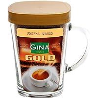 Gina Instant Kaffee Gold im Trinkglas 100g