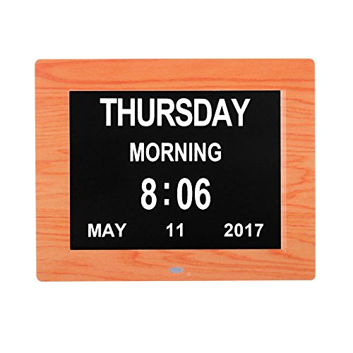 Pdf Gratis Hengqiang Digital Day Clock Calendar 8 Large Letters