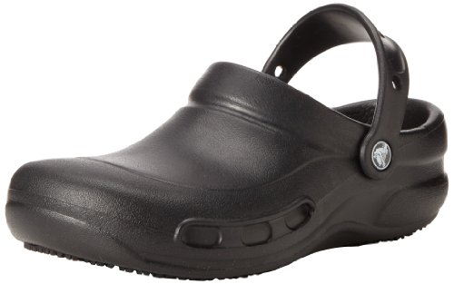 crocs Unisex Bistro 10075 Clogs (35,5 EU/3 UK) (Schwarz) -