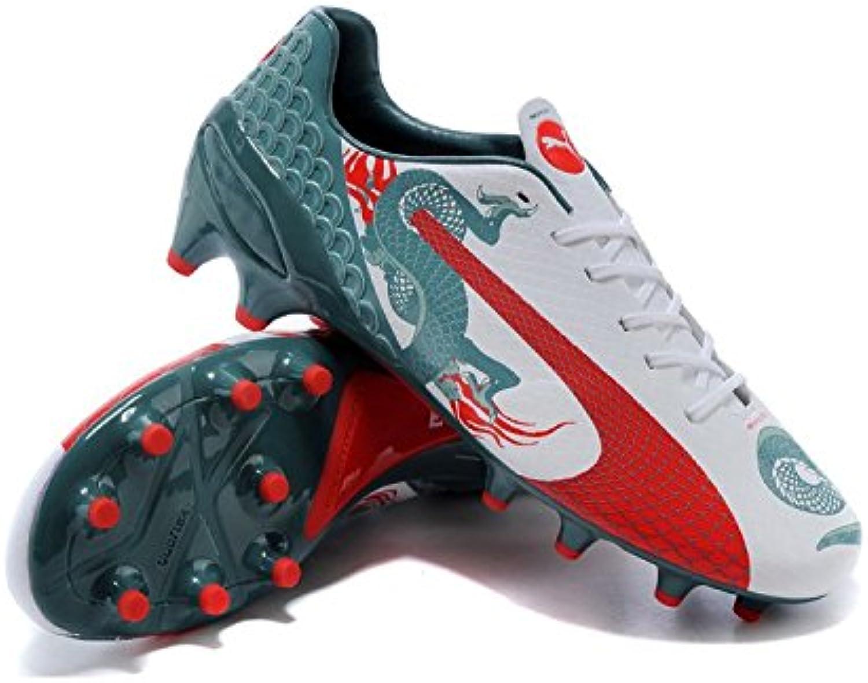 dsxgfdhf Herren Puma evoSPEED 1.3 Graphic FG Fußball Training Fußball Stiefel