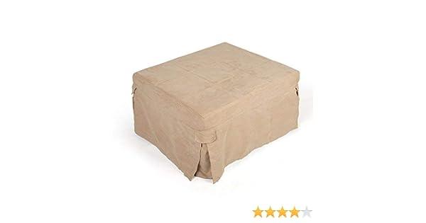 Salvaspazio Cucina Dmail : D mail dmail pouf letto colore beige amazon casa e cucina