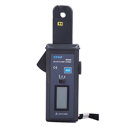 Multímetro Amperimetrica Digital, Abrazadera de alta precisión DC medidor de corriente de fuga medidor de corriente micro pinza ETCR6000 Clamp Meter