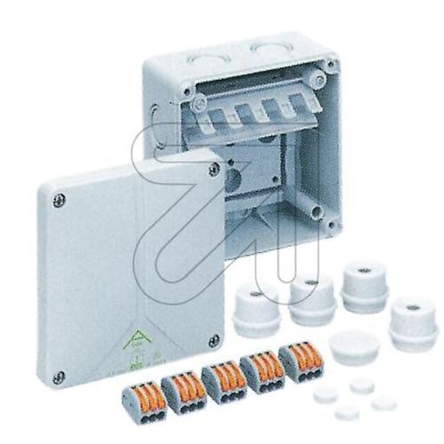 Spelsberg Verbindungsdose, 110 x 110 x 67 mm, IP65, GR Abox SL-2,5 qmm, 1196033