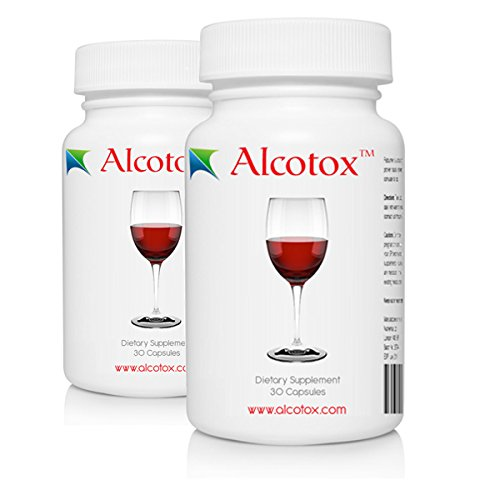 Alcotox - Hangover, Asian Flush/Glow Prevention and Liver Protection (30 Capsules)