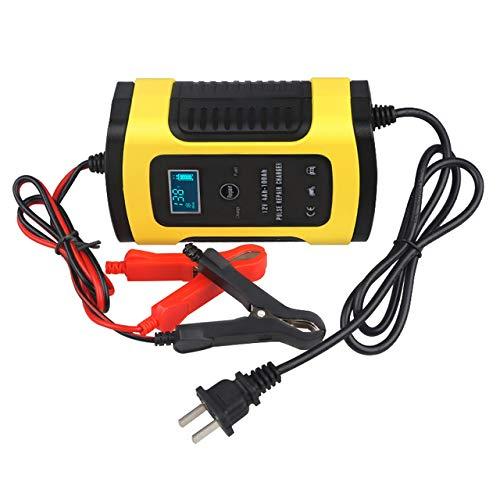 Preisvergleich Produktbild ZUEN 6A 12 V Intelligente Smart Motorrad Autobatterie Puls Ladegerät Reparatur Typ Blei Säure Lagerung Ladegerät Batterie Auto