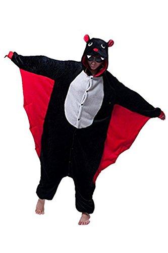 Missley Einhorn Pyjamas Kostüm Overall Tier Nachtwäsche Erwachsene Unisex Cosplay (S, (Kostüme Bat Familie)