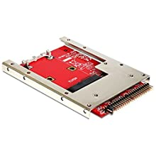 Delock 62495 Convertisseur IDE 44 broches> mSATA avec 2,5 Cadre (7 mm)