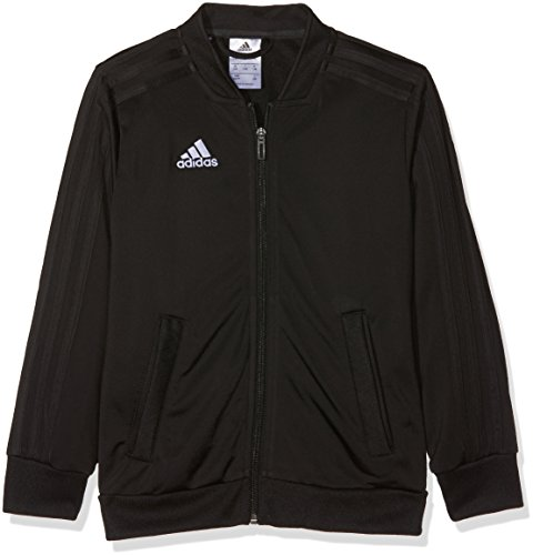 adidas Kinder CON18 PES JKT Y Jacket, Black/White, 11-12 -