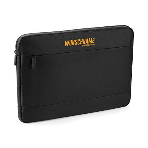 """Laptop Shuttle im coolen Design Business Laptoptasche bis 15,6"""" Größe Tablet Laptop Reise Tasche für Bürohengste mit Ihrem Wunschnamen"""