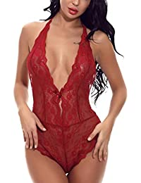 0262546926522 Femme Lingerie Sexy, Mounter-bra, taille plus Lacets non-ajusté ...