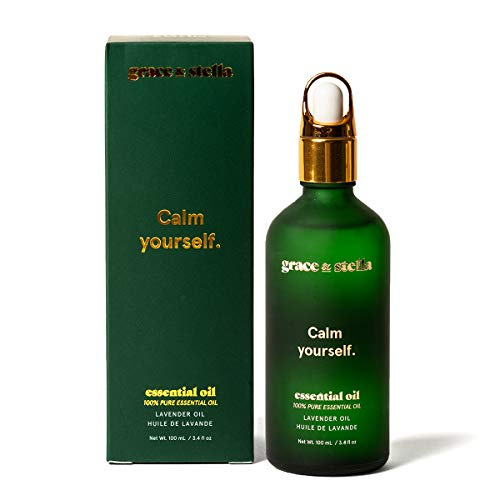 Aceite esencial de lavanda 100 ml Aceites de masaje naturales puros al 100% para mejorar el sueño...