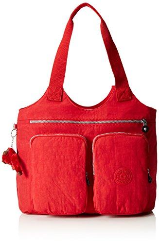 Kipling Damen Armide Shopper, 47x35x13 cm Rot (35J Vibrant Red)